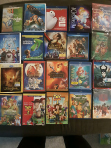 Disney Movie Sale. New and used priced great.