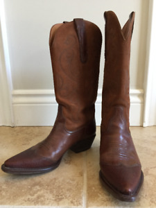 Women's size 8, NINE WEST COWBOY BOOTS, Only $60