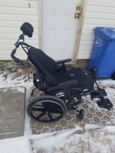 Used Quickie SR45 Tilt In Space Wheel Chair