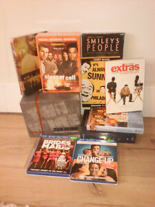 DVD box sets and series / Bluray