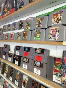 WOW PLUSIUERS JEUX NINTENDO 64 , SNES , GAME CUBE , WII ETV