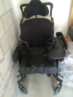 Tilt Wheelchair with Roho Cushion - Price Negotiable