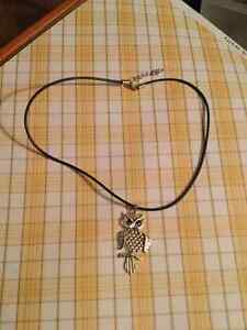 Dangle Big Owl Necklace