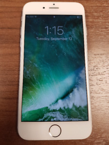 iPhone 6 64 GB Silver/white