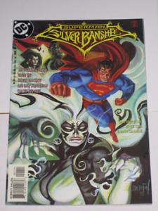 DC Comics Superman Silver Banshee#'s 1 & 2 set! comic book