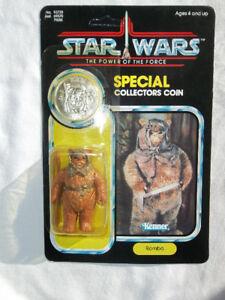 Vintage Star Wars POTF Figures MOC FS - R2D2, Amanaman, etc.