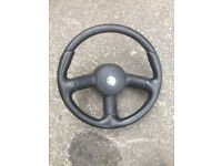 Corsa b gsi steering wheel