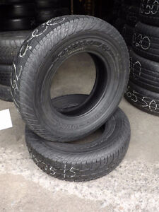 225/75/15 Dunlop Radial Rovers - 1000's of Used Tires Available