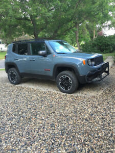 Enhanced 2016 Jeep Renegade Trailhawk