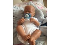 Full body silicone Collect able reborn doll w/ clothes £70