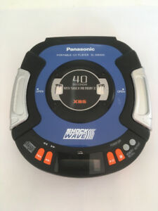 Panasonic Shock Wave Portable Personal CD Player SL-SW505