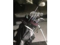 Set of ping eye 2 with Nike golf bag and callaway big Bertha