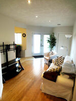 Three bedrooms, South End apartment, May 1