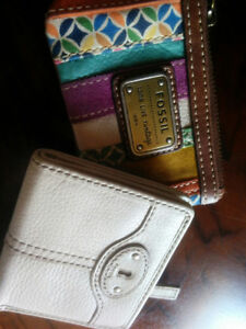 Fossil Wallet and Change Purse