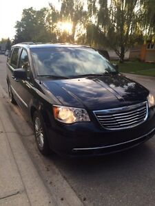 2014 town and country leather