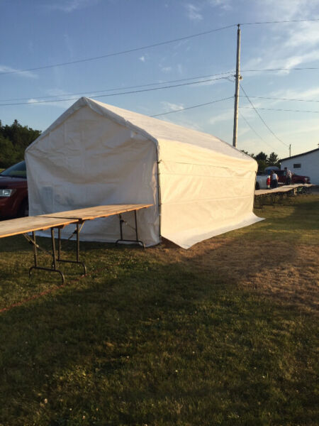 Event Tent / Portable Garage 10 x 20 WANTED | Outdoor ...