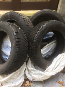 Winter tires - used lightly one season only