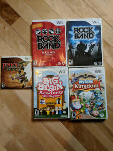 Xbox games - Xbox 360 games - WII games etc