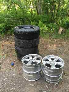 4 Great Tires with Rims For Sale!