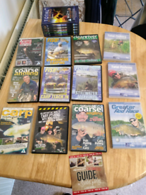 Fishing dvds carp and coarse