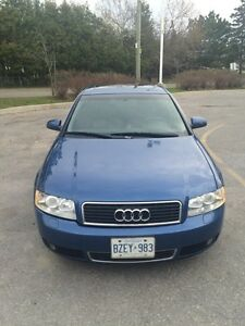 2003 Audi A4 3.0L Quattro 6 speed