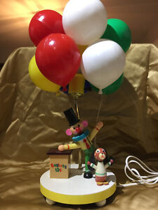 1970 Dolly Toy Balloon Vender Lamp