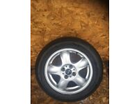 "MINI R56 ""15"" ALLOY WHEEL AND TYRE"