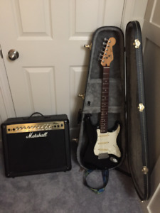 Fender Squier - Marshall MG30dfx combo