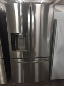 refrigerateur stainless LG 36 pouces