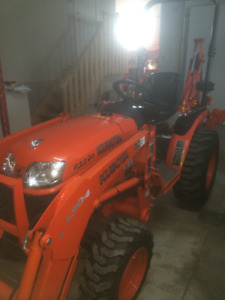 Kubota Diesel Tractor 104 Hours Only.
