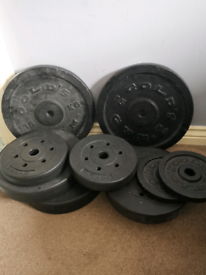 Golds Weights and bar
