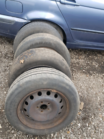 Scudo, dispatch, expert 16 inch steel wheels & tyres