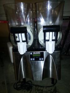 Bunn two hopper slushy frozen drink machine