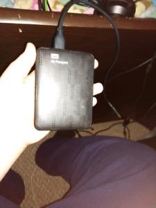 1tb Western digital my passport USB 3.0 external hard drive