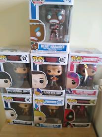 Pop figures £5 each