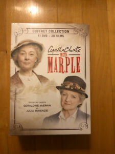 Coffret collection Miss Marple Agatha Christie Neuf et emballé.