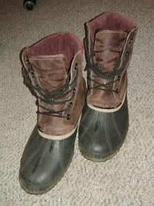 Men's Sorel leather boots