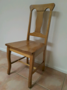 Vintage Wooden Dining Chair Dining Chairs Gumtree Australia Huon