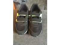 Adidas neon boys trainers size 1 worn once