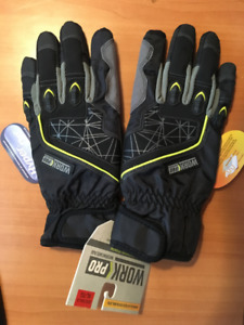 WORK PRO WATERPROOF HYBRID GAUNTLET GLOVES (Extra Large)