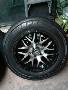 18 inch GM 6 bolt rims and tires