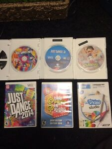 Wii Games Great Condition