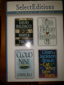 Reader's Digest Select Editions - 5 volumes of 4 novels