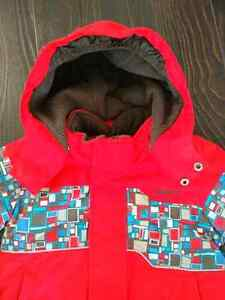 Gusti Snowsuit size 2.-used twice only!!! Cambridge Kitchener Area image 2
