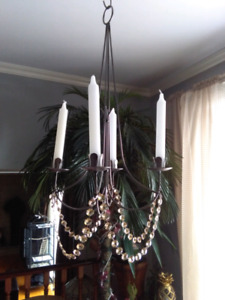 Chandelier candle hanging lamp