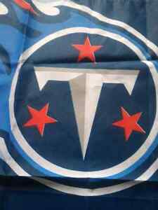 Tennessee Titans Garden Flag 3' x 2 1/4' NFL National Football L London Ontario image 4