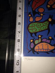 Set of 3 Norval Morrisseau Numbered Prints - Factory Sealed Oakville / Halton Region Toronto (GTA) image 5