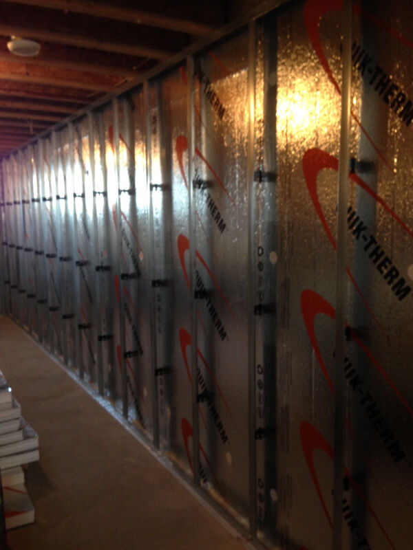 Basement Insulation System For Renovation Amp New Basements