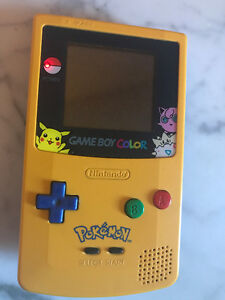 Limited Edition: Pokemon Yellow Gameboy Handheld /w box & manual