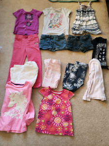 girls lot all for $10  4-7T